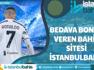 Bedava Bonus Veren Bahis Sitesi İstanbulbahis