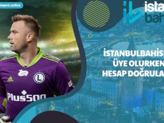 İstanbulbahis'ya üye olurken hesap doğrulama